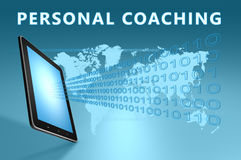 Personal Coaching Stock Photo