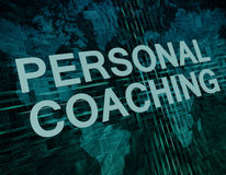 Personal Coaching Royalty Free Stock Photography