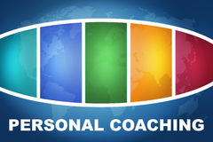 Personal Coaching Royalty Free Stock Photos