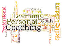 Personal Coaching Royalty Free Stock Images
