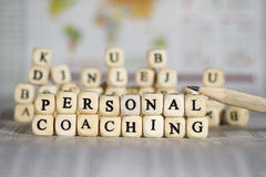 Personal coaching Stock Image