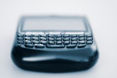 Personal Communication Device - Email. Macro shot of a Personal Communication Device Royalty Free Stock Photo