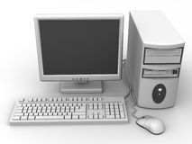 Personal-Computer Lizenzfreie Stockfotos
