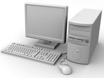 Personal-Computer Lizenzfreie Stockfotografie