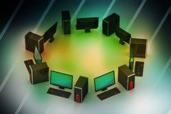Personal computer Stock Afbeeldingen