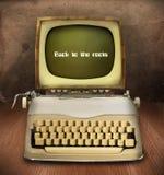 Personal computer d'annata Fotografia Stock