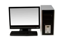 Personal-Computer getrennt Stockbild