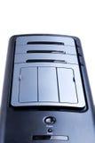 Personal-Computer getrennt auf dem weißen Hintergrund Lizenzfreie Stockfotos