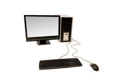 Personal computer isolated Royalty Free Stock Photo