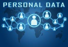 Personal Data vector illustration