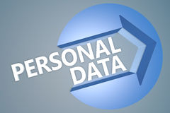 Personal Data Stock Image