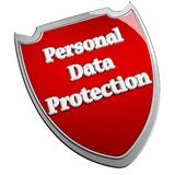 Personal data protection Royalty Free Stock Photography