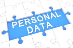 Personal Data Royalty Free Stock Image