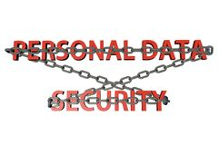 Personal Data Security Stock Images