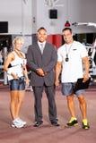 Personal de la gimnasia fotos de archivo libres de regalías