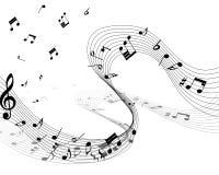 Personal de la nota musical Fotos de archivo