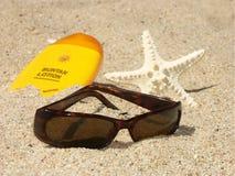 Personal de la playa Fotografía de archivo libre de regalías