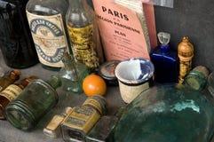 Personal del mercado de pulgas fotos de archivo libres de regalías