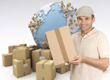 Personal delivery Stock Photography