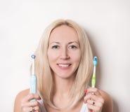 Personal dental hygiene Stock Photos