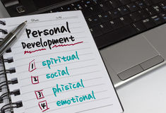 Personal Development Stock Image
