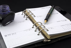 Personal diary Royalty Free Stock Photo