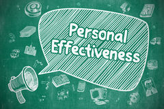 Personal Effectiveness - Business Concept. Stock Photography