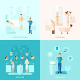 Personal And Family Care Icons Set Stock Image