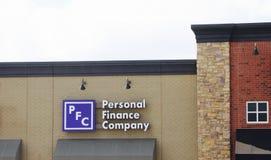 Personal Finance Company Royalty Free Stock Photo