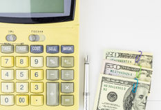 Personal finance concept background. Stock Image