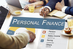 Personal Finance Information Balance Privacy Concept Stock Photo