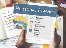 Personal Finance Information Balance Privacy Concept Stock Photography