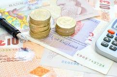 Personal finances Royalty Free Stock Photos