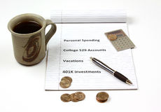 Personal Financial Decisons Royalty Free Stock Photo