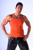 Personal fitness trainer. Royalty Free Stock Photos