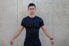 Personal fitness trainer Stock Photo