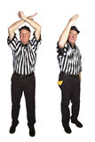 Personal Foul, Roughing the Passer Royalty Free Stock Photo