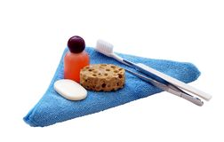 Personal grooming products Royalty Free Stock Photography