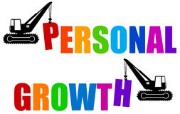 Personal growth royalty free illustration
