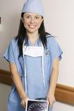 Personal hospitalario foto de archivo libre de regalías