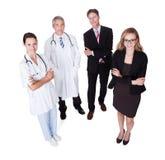 Personal hospitalario profesional Foto de archivo libre de regalías