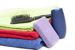 Personal hygiene items Royalty Free Stock Photography