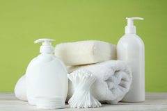 Personal hygiene products Royalty Free Stock Photos