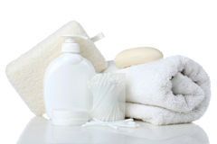 Personal hygiene products Stock Image