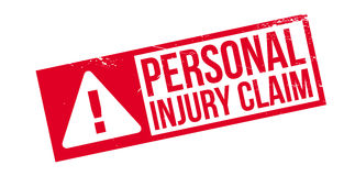 Free Personal Injury Claim Rubber Stamp Royalty Free Stock Image - 87995596