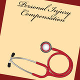 Personal Injury Compensation Royalty Free Stock Photography