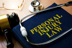 Personal Injury Law concept. Stock Image