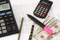 Free Personal Loan Calculation Royalty Free Stock Photo - 17838055