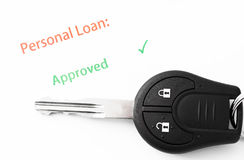 Personal loan Stock Photo