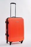 Personal luggage bag, white background. Royalty Free Stock Photos